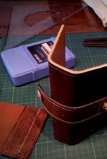 Leather bag wallet Accesories